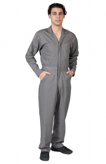 Coverall Long Sleeve Jumpsuit