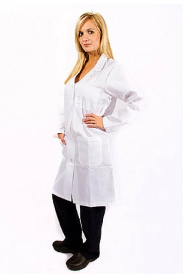 Unisex Knee Length Lab Coats
