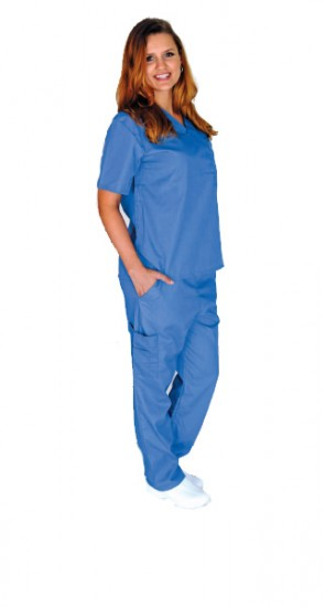 Unisex Fashion Scrub Top