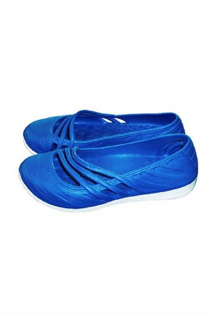 Contrast Fashion Clogs 9514 Blue
