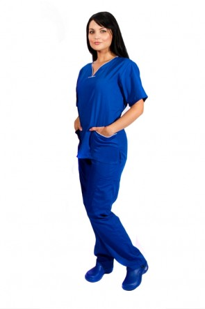 Unisex 6 Pocket Scrub Set BP101