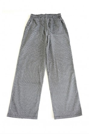 Houndstooth Classic Chef Pants